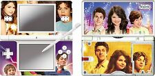 NINTENDO DS Lite - Wizards Waverly Place - 4 Piezas Pegatina CARCASA