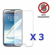3 x NEW Anti Glare Matte Screen Protector For Samsung Galaxy Note 2 II N7100