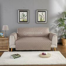 Microfiber Pet Dog Couch Slipcover Furniture Sofa Cover Khak Color_55x195cm