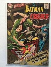 BRAVE AND THE BOLD # 80 VF- 7.5  BATMAN & CREEPER; NEAL ADAMS AUTOGRAPH