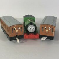 Thomas the Train Percy Trackmaster Annie Clarabel Tenders Motorized Tested