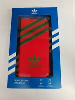 Adidas Nations Booklet Cover Case for iPhone 5/5S - Red/Green
