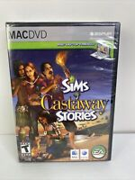The Sims: Castaway Stories MAC 2008 Brand New Factory Sealed DA92984