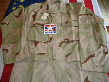 Bdu Coat Desert Small Military 3 Color New Propper Paintball Airsoft 50/50 Nyco