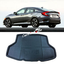 Car Rear Boot Cargo Trunk Mat Pad For Honda Civic 10th Gen 4dr Sedan 2016 2017
