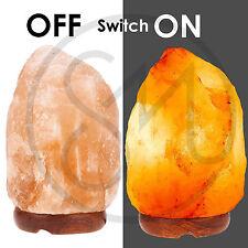Himalayan Natural Salt Rock Light Lamp Ionic Crystal Air Purifier w/Bulb 5-7 KG
