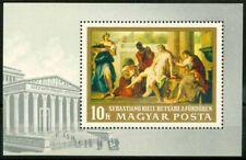 Hongrie 1968 SG MS2418 Bloc Feuillet 100% ** Peintures à la National Gallery