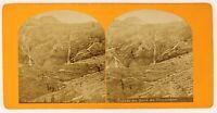 Envío de Venasque Pirineos Foto Estéreo PL56L2n Vintage Albúmina