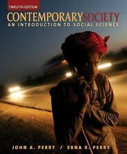 Contemporary Society: An Introduction to Social Science (12th Edition)-ExLibrary