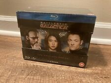 Battlestar Galactica: The Complete Series (Blu-ray, 20 Discs, Region Free) *New*
