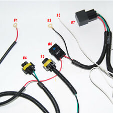 Relay Wiring Harness H11 880 For Add-On Fog Lights/ HID Conversion Kit / LED DRL