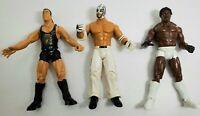 WWE Jakks Elbow Pads Lot Wrestling Action Figure Accessory Props/_s58