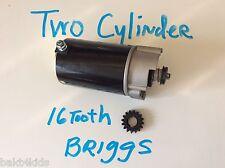 for Briggs and Stratton 2 cylinder starter Heavy duty, 16 teeth, BONUS FREE GEAR