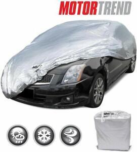 Motor Trend Universal Waterproof Car Cover Outdoor Sun Dirt Scratch Resistant