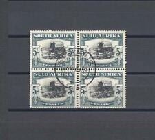 SOUTH AFRICA 1944 SG 64b USED BLOCK Cat £42