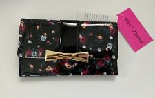 Betsey Johnson Bow Hardware Wallet Multicolor