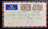 1958 Sokoto Nigeria Airmail Commercial Cover To Royal Bank In Dublin Ireland