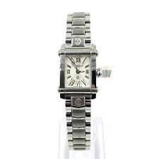 Charriol Silver Dial Rectangle Stainless Steel 18mm Women's Quartz Watch CCSTRD2