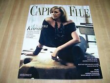 Capitol File magazine - 2014 Fall Fashion - Donna Karan cover