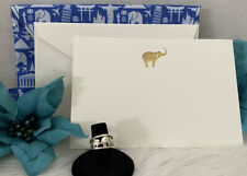 Elephant Ring Sterling Silver Band 3 Elephant SZ 6.25 W Free Gift Card & Pouch