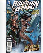 AQUAMAN and the OTHERS #4 - IVAN REIS COVER - LAN MEDINA ART - 2014