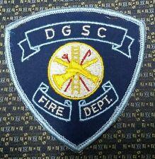 VINTAGE DEFENSE GENERAL SUPPLY CENTER RICHMOND, VIRGINIA FIRE DEPARTMENT PATCH