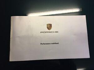 J DAY  Porsche Performance Redefined - UK Cayenne Brochure KN/B/1203 2003 Rare