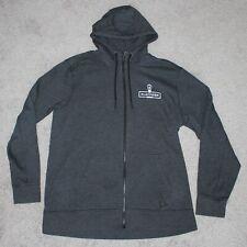 Platform Beer Co Hoodie Sweatshirt Men's Xl X-Large Gray Full Zip Jacket New Era