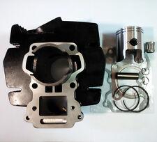 50mm cylinder Piston Rings Pin Clips Gaskets Bearing Kit Suzuki AX 100 2-Stroke