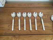 More details for johnson brothers eternal beau soup spoons x6.