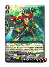 Cardfight Vanguard  x 4 Sunshine Knight, Jeffrey - G-BT07/029EN - R Mint