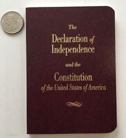 U.S. Pocket Size Constitution Declaration Of Independence USA | Amendments 🆓📦