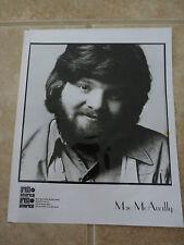 Mac McAnally 8x10 B&W Publicity Picture Promo Photo Damaged