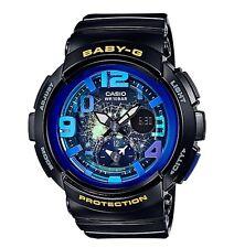 Casio Baby-G * BGA190GL-1B Dual Dial World Time Gloss Black COD PayPal