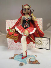 Margaret Le Van Alley Cat 'Little Rude Riding Hood' Artisan Flair retired NIB FS