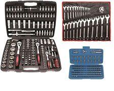 BGS KRAFTMANN Werkzeugkoffer Knarrenkasten 297 Werkzeuge Schlüssel Knarren Nüsse