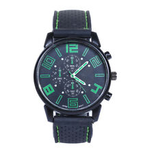 Men Fashion Stainless Steel Sport Watch Cool Quartz Hours Wrist Analog Watch GN