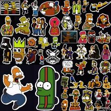 The Simpsons Stickers 50+ Cool Designs! Laptop Car Skateboard Motorcycle Vinyl