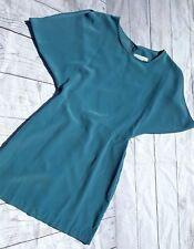 BCBG Generation Women's Blue Summer Open Back Short Dress Size 6