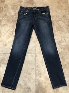 American Eagle Outfitters 10 Regular Skinny Super Stretch Blue Women's Jeans