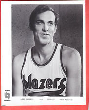 1974   TRAIL BLAZERS  TEAM ISSUED  GLOSSY  8 X 10  BARRY CLEMENS   NM