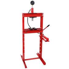 EBERTH 12T hydraulische Werkstatt Presse mit Manometer Hydraulik Lager Dorn KFZ