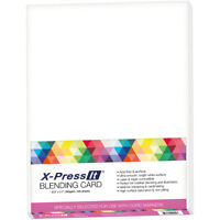 "Copic Marker XPBC X-Press Blending Card 8.5""X11"" 125/Pkg-White"