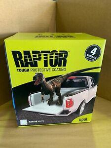 Upol Raptor White Bed Liner For Ute/Tub 4 Bottle Kit, Protective Coating