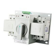 Automatic Transfer Switch 2P 63A 110V Toggle Switch Dual Power P9R5