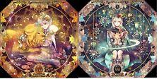 Jewel Princess Tarot octagonal shaped 22 major arcana cards