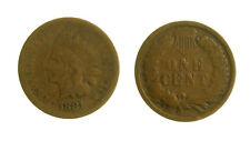 s50_24)  U.S.A. Indian Head  Cent 1881