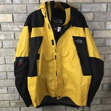 Vintage The North Face XCR Summit Series Yellow Mens XL W/ Liner Ski Parka Hood