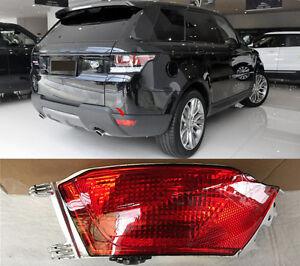 For Range Rover Sport L494 14-17 Pair Halogen Rear Fog Light Tail Bumper Lamp