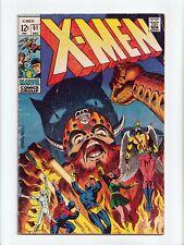 New listing X-Men #51 Steranko Cover Erik the Red Marvel Comics 1968 Vg+